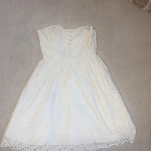 ARITZIA Talula dress (white)
